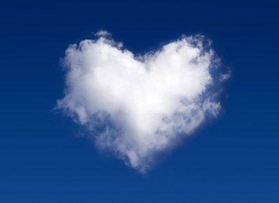 Sur un nuage dans Aimer coeur_nuage